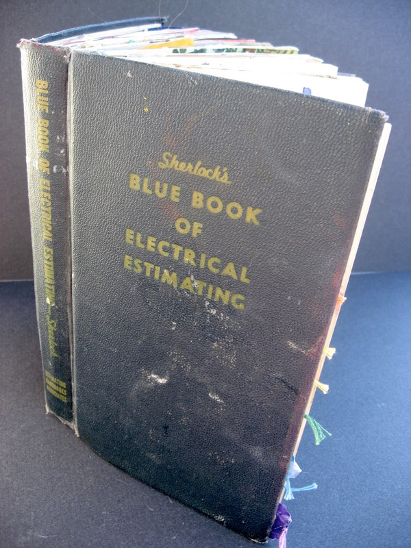 Original Text Sherlock S Blue Book Of Electrical Estimating